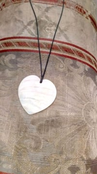 White Heart Necklace Brand New $18 OBO