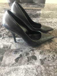 Aldo Black Leather Pointed Heels Toronto, M1P 4P5
