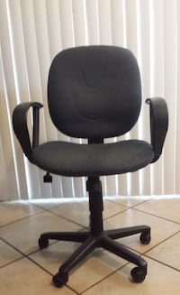 Fabric Office Chair with Arms Peoria