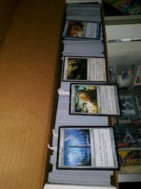 magic the gathering cards .50 cents each
