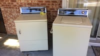 White top-load clothes washer and dryer set. Pensacola, 32506