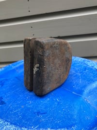 Small table top Anvil - Square, Slot & Round Edge Northwood, 03261