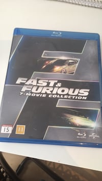 Fast and furious 1-7 6516 km