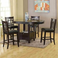 Home Souce Charleston Cappuccino Table , SKU# 59223 Santa Fe Springs