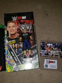 WWE 2k 15, 18, & 19 collectors editions contents Chantilly