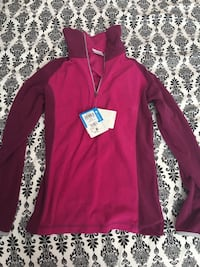 red and white zip-up hoodie Ajax, L1T 3T9