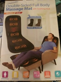 Double sided full body massage mat