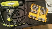 yellow and black DeWalt corded power drill Oakville, L6M 2Z2