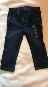 Gap (new) blue denim straight-cut jeans Lafayette