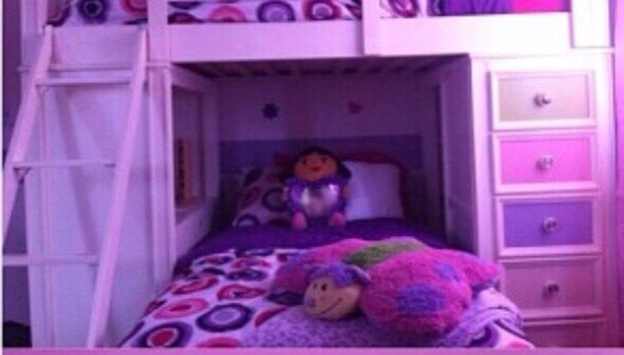 Limited Edition Build A Bear Bunk Bed