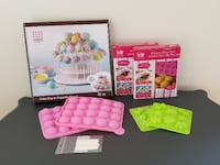 NEW Cake pop stand + cake pop molds Vienna