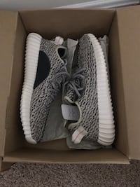 Yeezy 350 b1 turtle dove 100% authentic size 9 deadstock  Germantown, 20876