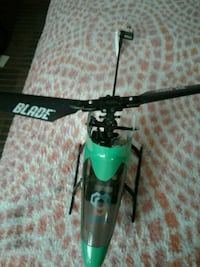 RC helicopter and drone