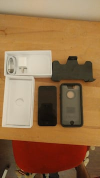 black iPhone 5 with box L'Ancienne-Lorette, G2E 3G7