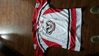 white and red jersey Jacksonville, 28546