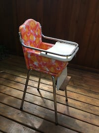 Vintage high chair  Surrey, V4A
