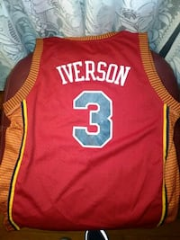 Iverson Syracuse Nationals Throw back jersey Albrightsville, 18210