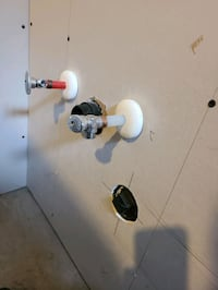 4 prong dryer outlet and the hoses to the washer