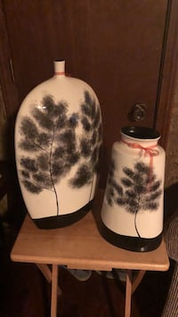 two black and white tree print bottles Amarillo, 79109