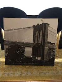 Brooklyn Bridge Canvas Picture Washington, 20012