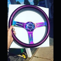 """NRG new steering wheel. Quick release. """"REAL"""" Mount Pleasant, 17325"""