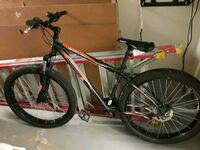 black and red hardtail mountain bike Bethany, 73008