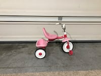 pink and red trike