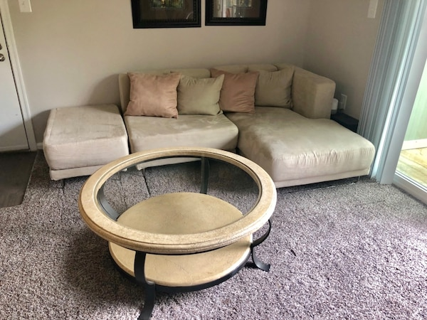 Sofa Sectional and Coffee Table