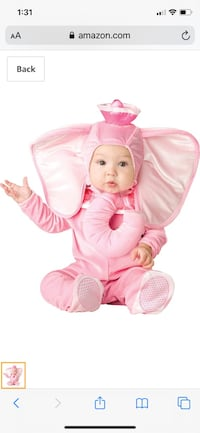Pink elephant costume  Bakersfield