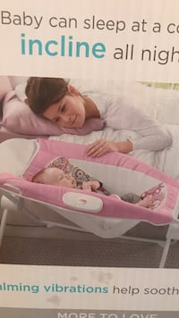 New in box: Baby's pink and white bassinet Lilburn, 30047