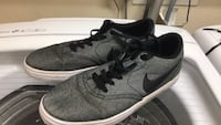 pair of gray Nike low-top sneakers Menifee, 92584