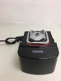 Black and red canister vacuum cleaner Toronto, M1R