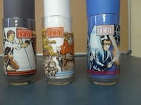 Return of the Jedi Burger King Drinking Glass Set  Wilkes-Barre