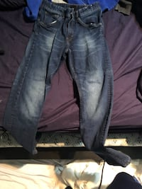 Blue and black  skinny  jeans for cheap Vaughan, L6A 3C6