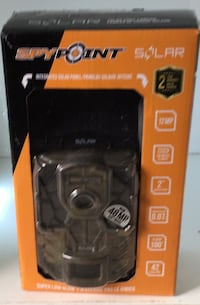 Spypoint - Infared motion detection, trail cam with solar panal Toronto, M5R 1V2