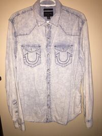Fresh True Religion Button Up Only $70 Whitby