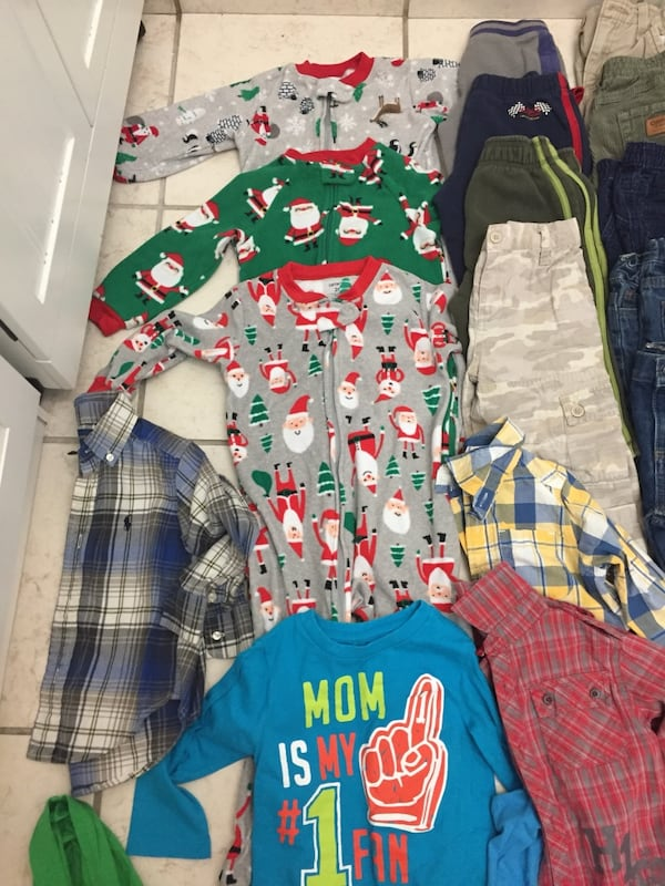 Huge 2T boy lot winter clothing  5