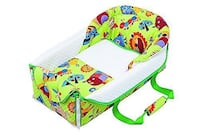 baby's green and white bed frame Queens, 11373