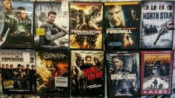 Price Drop. 10 DVDS.