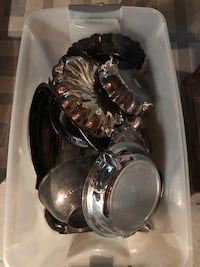 Silver plate bowls and plates Brookeville, 20833