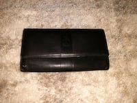 Black alfred sung wallet