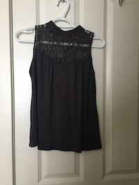 Lace high neck shirt Calgary