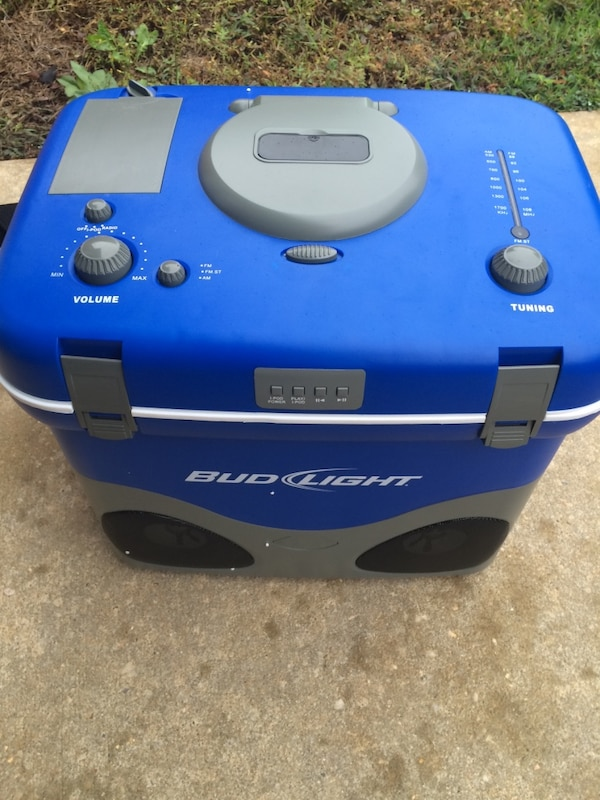 Bud Light Radio Cooler With Ipod Dock - About Dock Photos Mtgimage Org