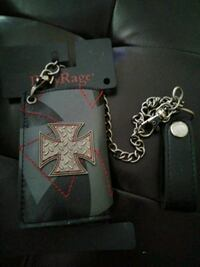 Gothic Wallet with chain