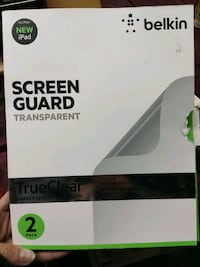 New 2 pack Belkin iPad Air Screen Protector Oakville, L6H 3H2