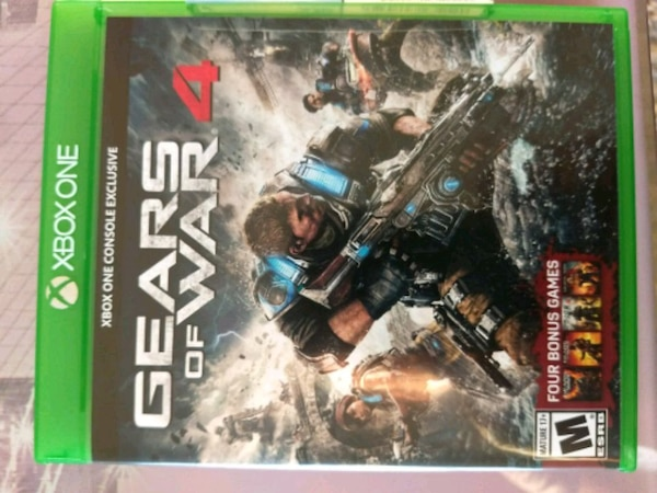 Xbox one Gears of war unopened game 8a1f4aba-2f50-4093-836e-02bd1c37c561