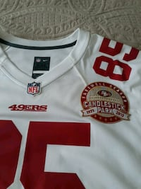 jersey 49er Davis XXL excellent condition $40 non  Glendale, 91201