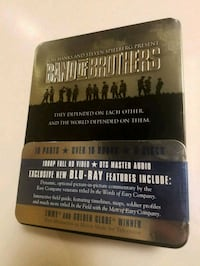 Band of Brothers DVD Tin Can Set Blu-Ray Hayward, 94544