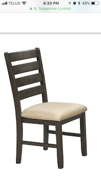 6 Brand new unused chairs. Retail $150 each