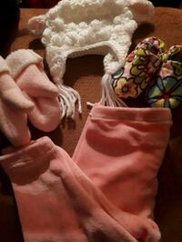 Hand crafted newborn babygirl items.  Winnipeg, R2H 2V8